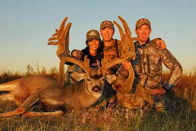 Cody's potential world record archery mule deer