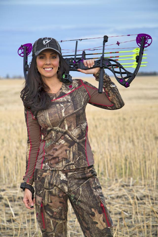 Kelsy with her Bowtech