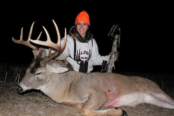 Kelsy Claypool's 2011 Whitetail