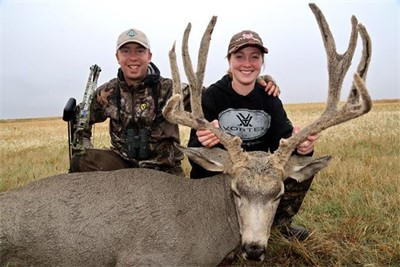 September 26th 2014, HUNTER'S FIRST ARCHERY MULIE