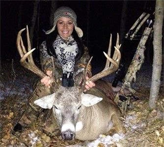 October 26th 2012, GIANT BUCK WITH TEN POINT CROSSBOW!!!