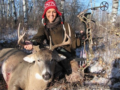 Kelsy Claypool is Officially a Bowhunter