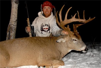 November 5th 2012, MONSTER BLACK POWDER WHITETAIL WITH THE TC